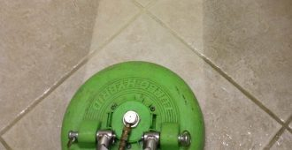 Newly Restored Hard Surface Cleaning & Restoration - Tile and Grout Cleaning