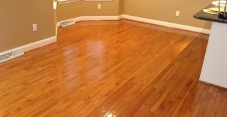 Newly Restored Hard Surface Cleaning & Restoration - Hardwood Floor Cleaning
